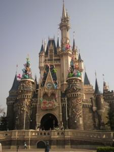 30周年シンデレラ城昼